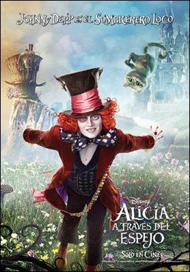 Johnny Depp vuelve a ser el Sombrerero en Alicia a través del espejo