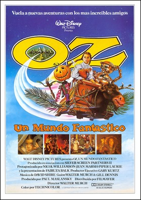 Póster de la curiosa película Oz, un mundo fantástico