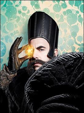 Sacha Baron Cohen como Tiempo, en Alicia a través del espejo