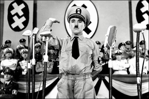 Astolfo Hynkel, Chaplin en El gran dictador