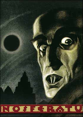 Cartel de Nosferatu, de Murnau
