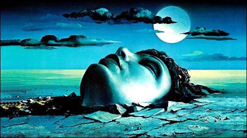 La impactante ilustración de Muertos y enterrados... que luego nada tiene que ver con la historia