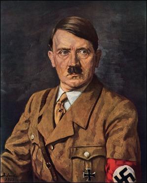 Retrato de Hitler en 1933, por Bruno Jacobs