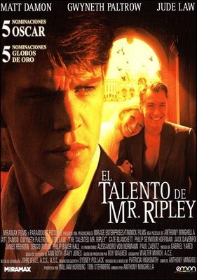 El penoso cartel de El talento de Mr. Ripley
