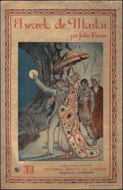 El secreto de Maston, vieja edición de Sans dessus dessous en Saénz de Jubera