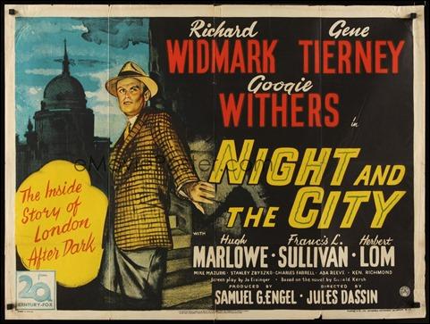 Cartel americano de Noche en la ciudad