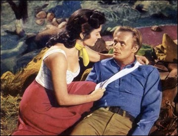 coup de fouet en retour Backlash 1956 real : John Sturges Richard Widmark Donna Reed COLLECTION CHRISTOPHEL