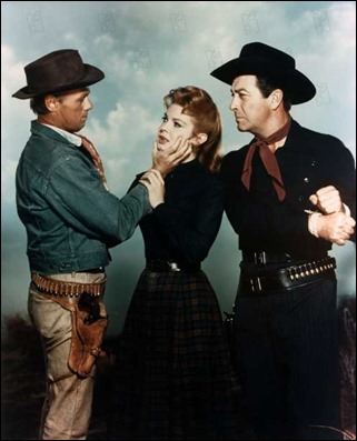 Le tresor du pendu The Law and Jake wade 1958 real : John Sturges Robert Taylor Richard Widmark Patricia Owens COLLECTION CHRISTOPHEL