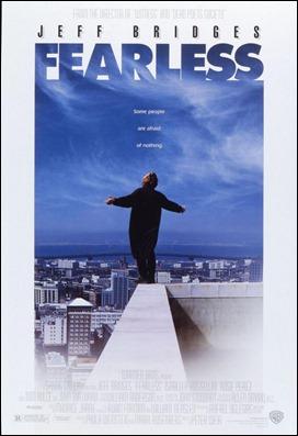Excelente poster de Sin miedo a la vida, de Peter Weir