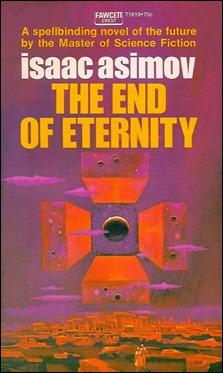 Portada americana de El fin de la eternidad