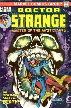 Portada de Dr. Strange por Frank Brunner
