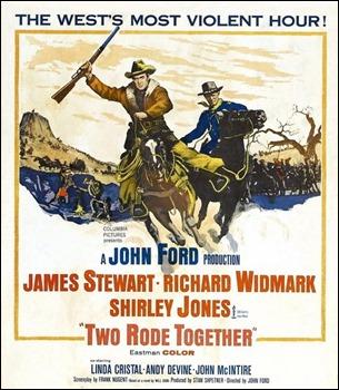 Poster original de Dos cabalgan juntos
