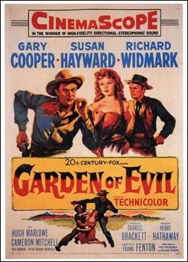 Poster original de El jardín del diablo