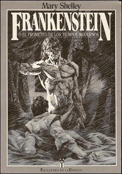 Curiosa edición de Frankenstein o el moderno Prometeo