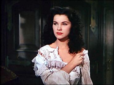 Debra Paget, también bellísima en La mujer pirata