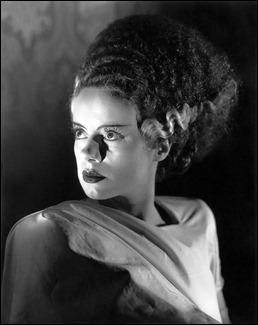 Elsa Lanchester, novia de Frankenstein o tecno-Nefertiti