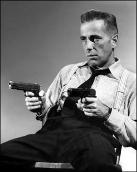 Humphrey Bogart como Roy Earle en El último refugio, su primer protagonista