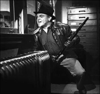 James Cagney es Cody Jarrett en Al rojo vivo