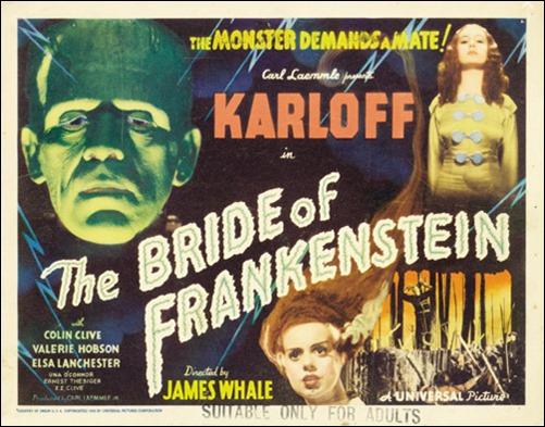 Poster de La novia de Frankenstein