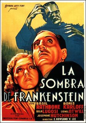 Poster de La sombra de Frankenstein