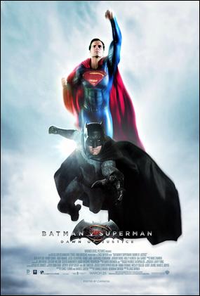 Buena alternativa a los posters más conocidos de Batman v Superman El amanecer de la justicia