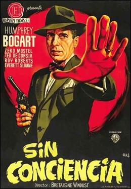 Cartel español de Sin conciencia