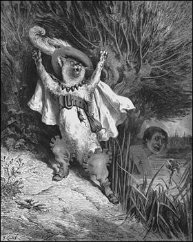 El gato con botas, por Gustave Doré