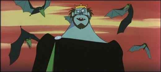 El genial ogro Belcebú, el villano de El gato con botas 1969