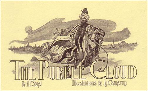 Ilustración de J. J. Cameron para La nube púrpura