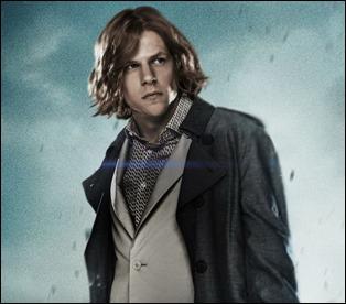 Jesse Eisenberg, un Lex Luthor que se cree el Joker