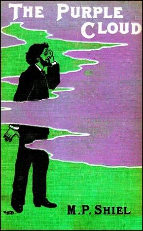 Portada de la primera edición de La nube púrpura, de M. P. Shiel, en 1901