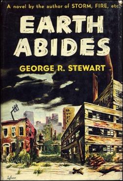 Primera edición de La Tierra permanece, ilustración de H. Lawrence Hoffman