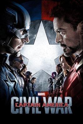 Póster de Capitán América Civil War