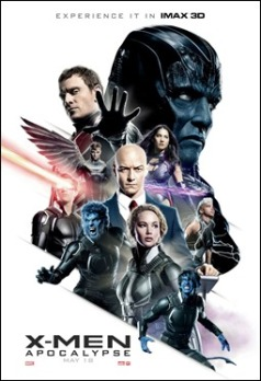 Un póster algo diferente de X-Men Apocalipsis