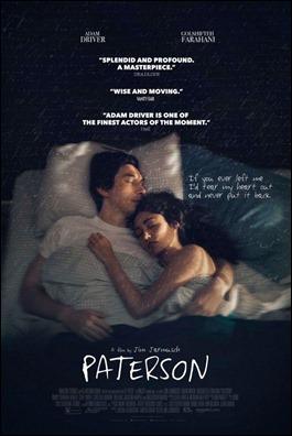 Cartel anunciador de Paterson, de Jim Jarmusch