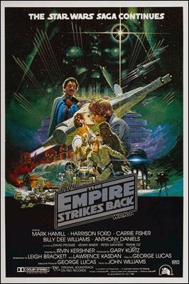 Cartel original de El Imperio contraataca