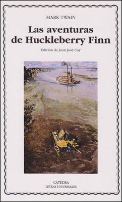 Edición de Huckleberry Finn en Cátedra Letras Universales