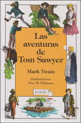 Edición de Tom Sawyer en la Colección Laurín, de Anaya