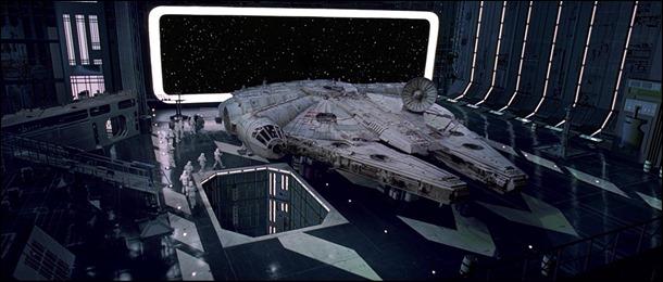 El Halcón Milenario, la joya de la galaxia