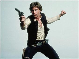 Harrison Ford como el gran Han Solo