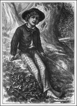 Ilustración de True Williams para el frontispicio de la primera edición de Las aventuras de Tom Sawyer