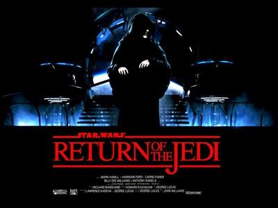 Nuevo cartel para El retorno del Jedi