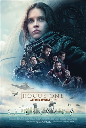 Póster principal de Rogue One. Una historia de Star Wars