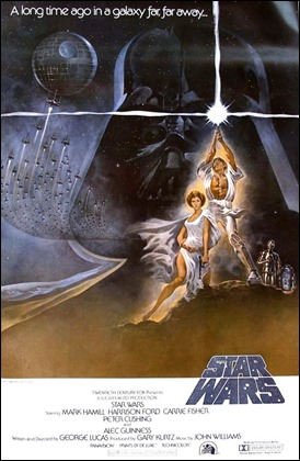 Un cartel menos conocido de La guerra de las galaxias