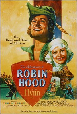Cartel anunciador de Robin de los Bosques