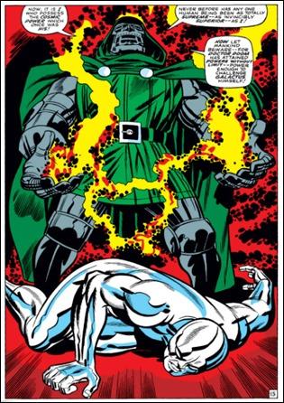 El Doctor Muerte se apropia del poder cósmico de Estela Plateada