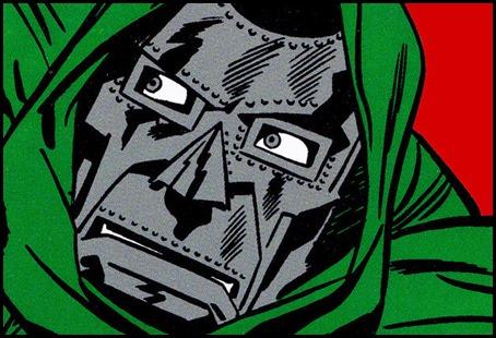 El rostro siniestro del Doctor Muerte, por Jack Kirby