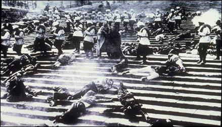 Imagen de la secuencia de la escalinata de Odesa