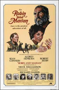 Poster de Robin y Marian, de Richard Lester