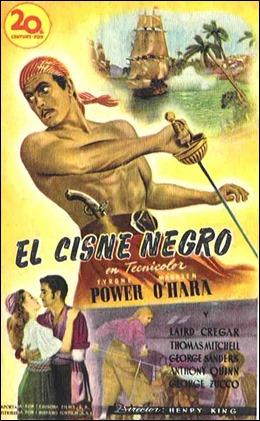 Póster español de El cisne negro